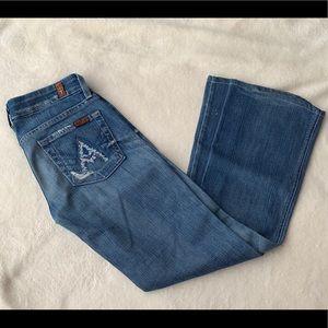 7 For All Mankind A Pocket Jeans Patchwork Pocket